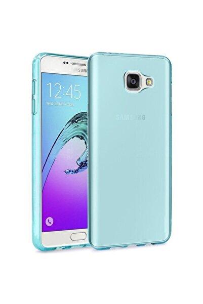 Samsung Teleplus Galaxy A7 2016 Silicone Kılıf Mavi
