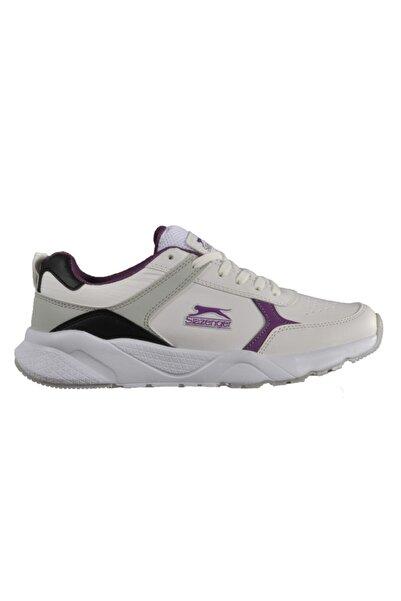 Slazenger Ikarus Beyaz-mor Unisex Spor Ayakkabı