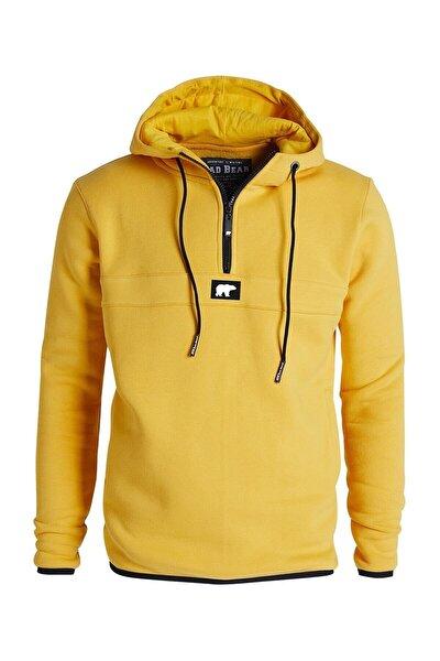 Bad Bear Defence Half-zıp Basic Pamuklu Erkek Sweatshirt 19.02.27.027