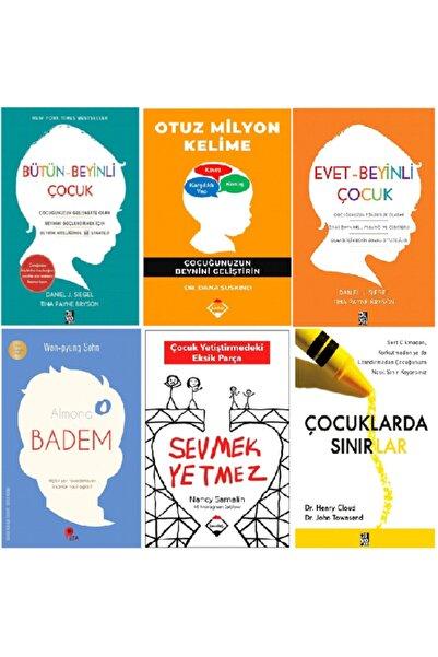Diyojen Yayıncılık Bütün Beyinli Çocuk - Sevmek Yetmez - Otuz Milyon Kelime - Evet Beyinli Çocuk Gelişim Seti 6 Kitap