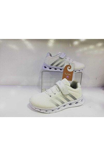 Pierre Cardin Çocuk Beyaz Bantlı Spor Ayakkabısı 30054