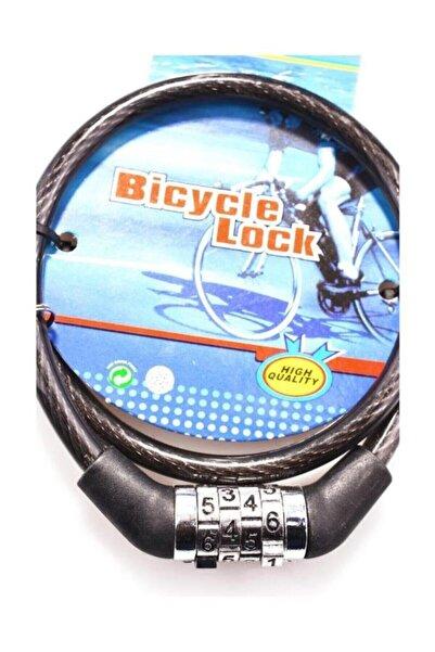 rennway Çalınma Engelleyici 4 Haneli Şifreli 60 Cm Halat Bisiklet Kilidi