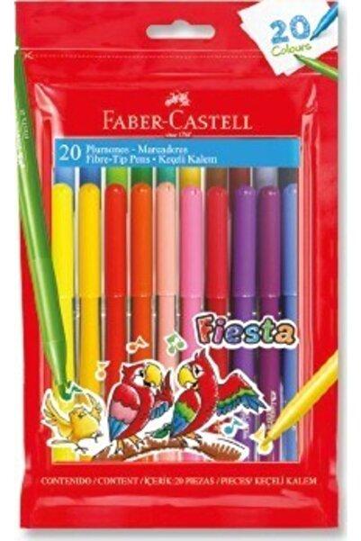 Faber Castell Fiesta Keçeli Kalem 20'li