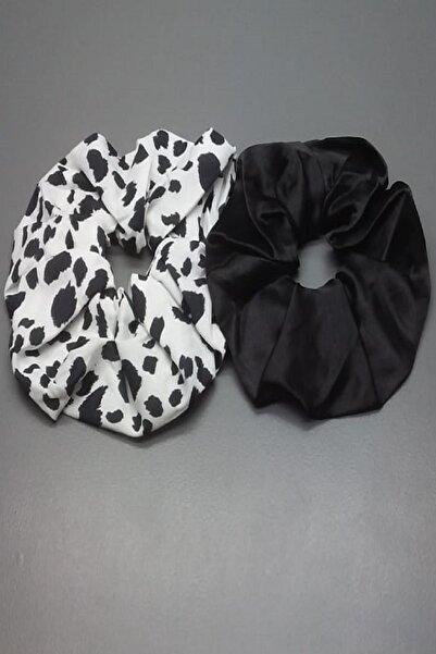 Tshigo 2'li Siyah Zebra Saç Tokası