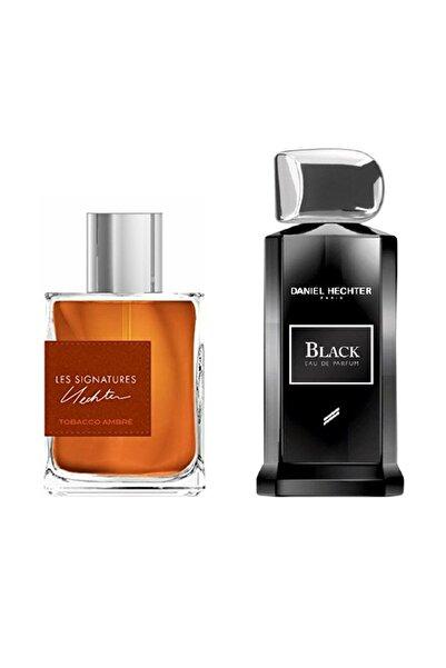 Daniel Hechter Tobacco Amber Edp 100 ml+ Couture Black Edp 100 ml Erkek Parfüm 9600550965212