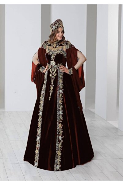 Ceyyiz Bindallı Kına Elbisesi 5 Parça 20-115