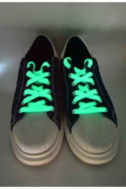 Fashionery Mavi Led Işıklı Ayakkabı Bağcıkları