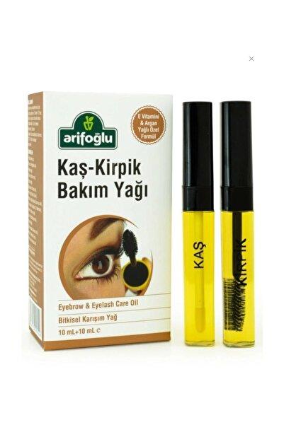 Arifoğlu Kaş Kirpik Bakım Yağı 10 ml + 10 ml 2 Li Set Organik Argan Yağı - Doğal E Vitamini