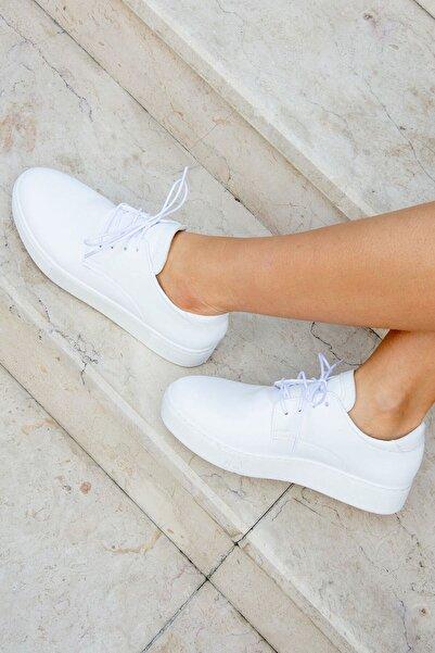 Fox Shoes Beyaz Kadın Sneaker H820870209
