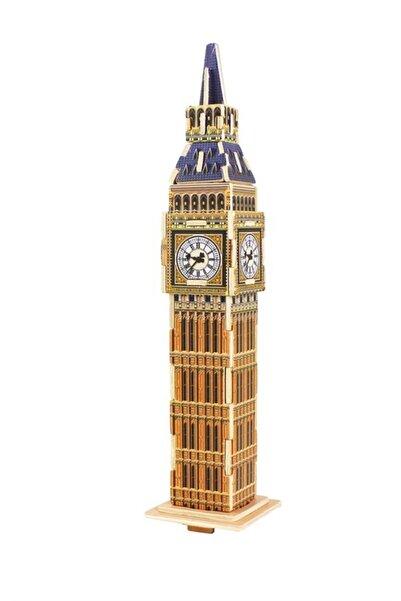 Robotime 3d Ahşap Puzzle Big Ben Saat Kulesi- Mj204