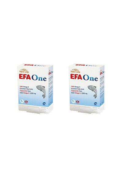 New Life Efa One 45 Kapsül 2'li Paket