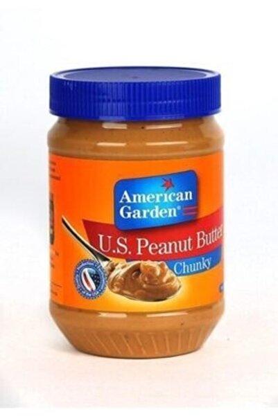 american garden Peanut Butter Chuncky/ Parçacıklı Fıstık Ezmesi 340 G