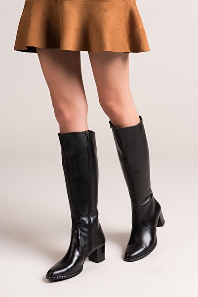 Fox Shoes Siyah Kadın Çizme C654652709