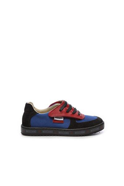Moschino Çocuk Derı Spor Ayakkabı 104 25540 COCUK PATIK