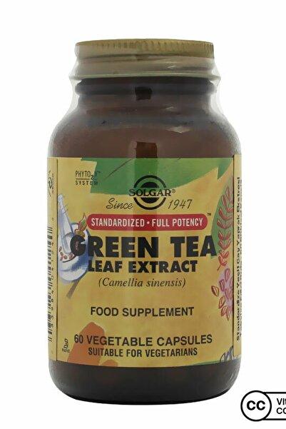 Solgar Green Tea Leaf Extract 60 Kapsül