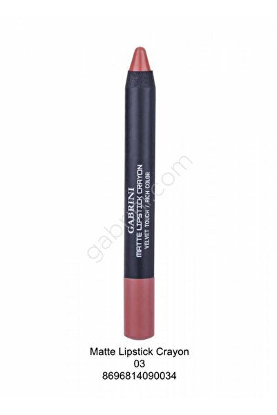 Gabrini Gabrını Matte Lıpstıck Crayon 03