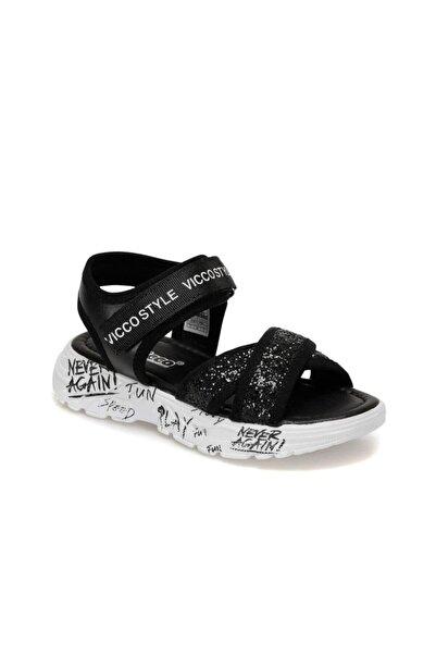 Vicco 321.F20Y.374 Siyah Kız Çocuk Sandalet 100578726