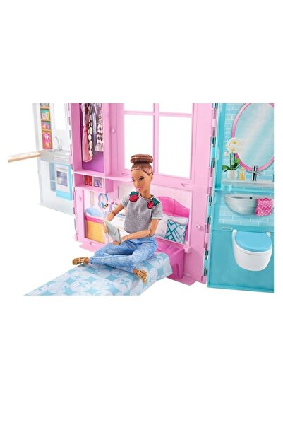 mattel Barbie'nin Taşınabilir Portatif Evi