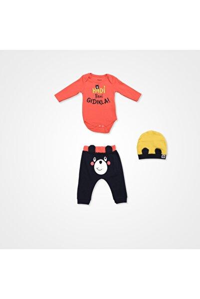 Miniworld Hadi Beni Gıdıkla Badili Bebek Takımı - 3 Parça - Turuncu