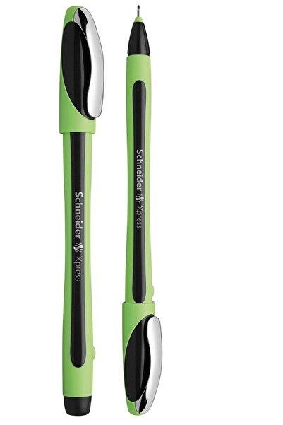 SCHNEIDER Pilot Kalem Keçe Uçlu Siyah Renk Fiber Uçlu Kalem Xpress