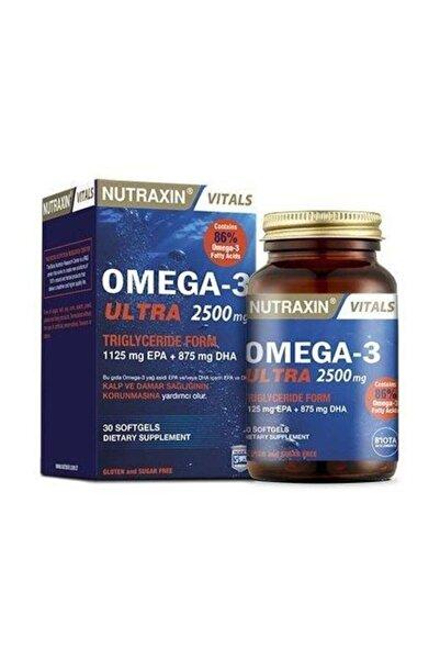 Nutraxin Ultra Omega 3 2500 Mg 30 Softej