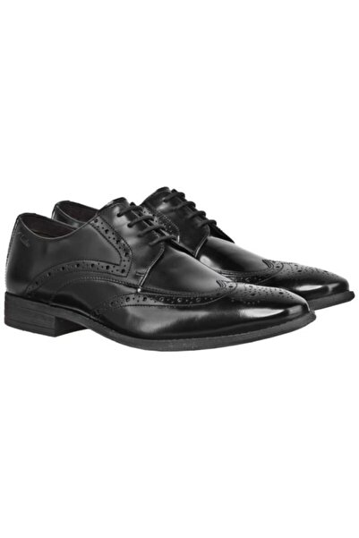CLARKS Erkek Bağcıklı Ayakkabı Siyah Şık Rahat Ortholite Chart Limit