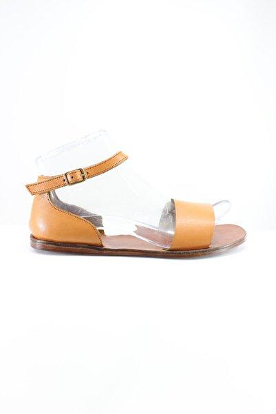 İnci Kadın Taba Sandalet