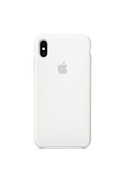 Teknoloji Adım Iphone Xs Max Uyumlu Beyaz Silikon Kılıf