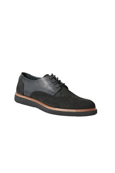 ALTINYILDIZ CLASSICS Erkek Siyah Casual Deri Ayakkabı