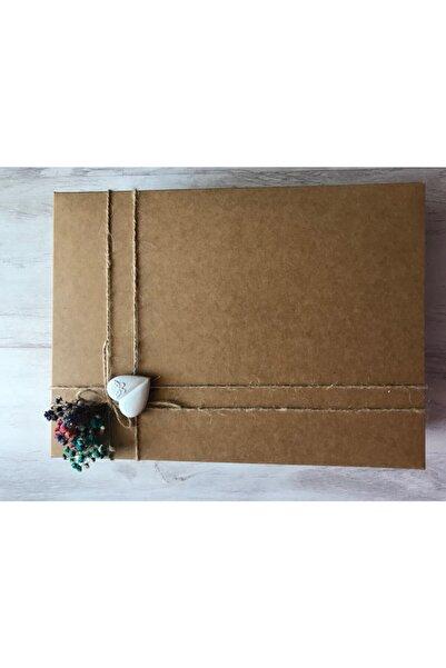 boxboxpense Kraft Hediye Kutusu 30cm 20 Cm 10 Cm