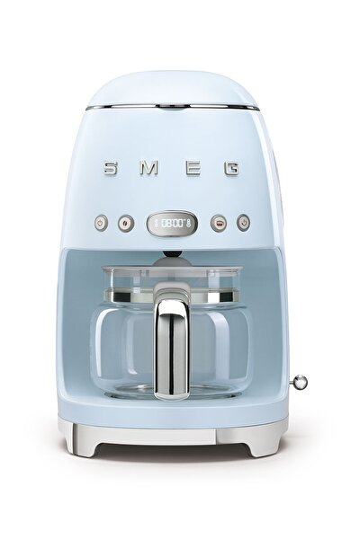 SMEG Pastel Mavi Kahve Makinesi 50's Style Dcf02pbeu