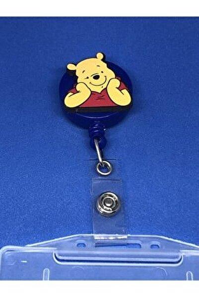 Unisex Winnie The Pooh Yoyo Yaka Kartlığı