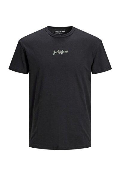 Jack & Jones Nakışlı Jorstockholm Tee Ss Crew Neck Erkek Tişört 12185790
