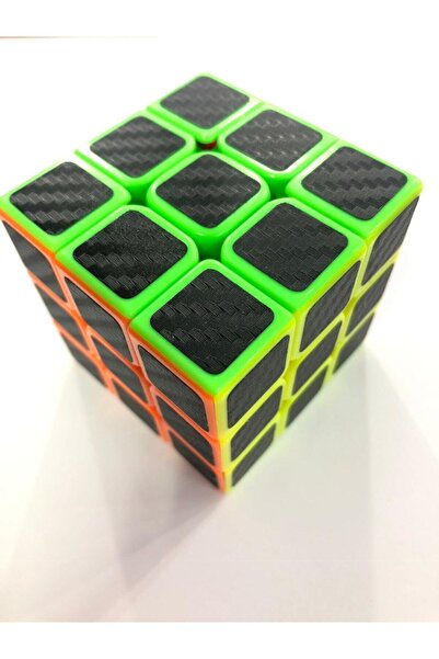 Gökkuşağı Zeka Küp 3x3 Rubik Küp Carbon Modeli Ithal