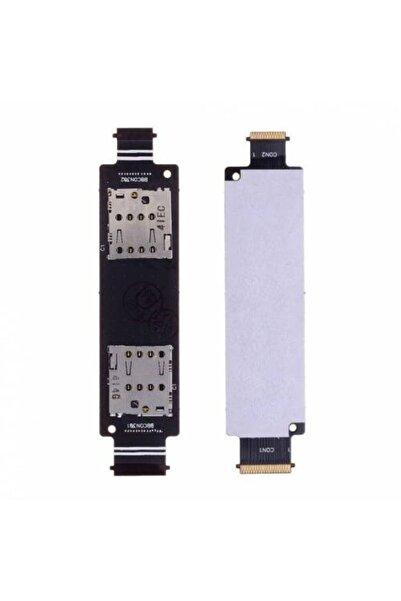 Fulldestek Asus Zenfone 5 Uyumlu (a500cg) A+ Sim Ve Hafıza Kart Okuyucu Flexi (çift Hatlı)