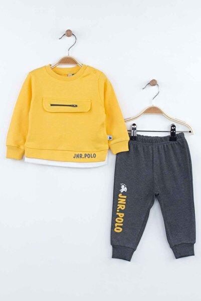 Modakids Sarı Mevsimlik Erkek Bebek 2 Li Takım