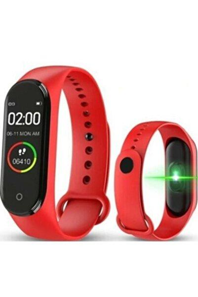 JUNGLEE M4 Akıllı Saat Özellikli Renkli Ekran M4 Akıllı Bileklik Saat