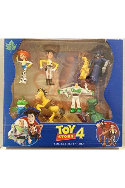 Toy Story 4 Woody Jessie Rex Bullseye Buzz 7 Model Figür Oyuncak
