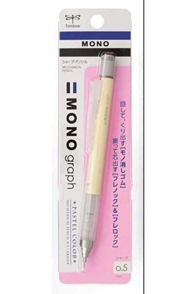 Tombow Krem Sarı Mono Graph Pastel Versatil Kalem Pastel