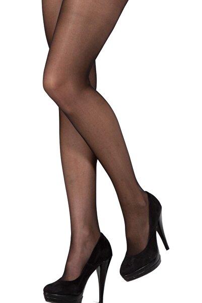 Pierre Cardin Kadın Siyah Parlak Külotlu Çorap Isis
