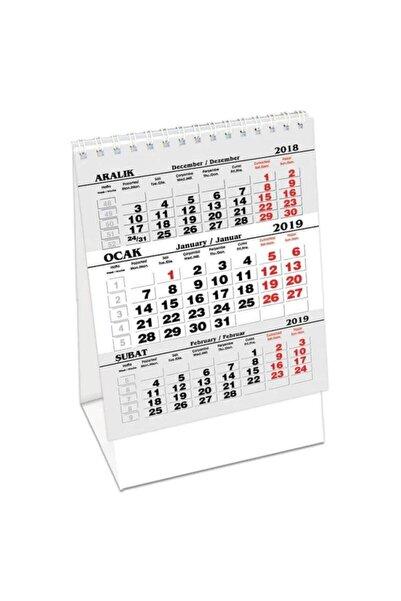KESKİN COLOR 2021 Yeni Masa Takvimi Üçgen Karton 11x18,5cm Mdzk-786 820103-99