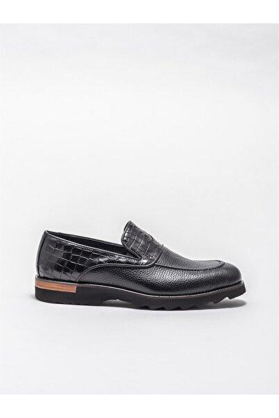 Elle Erkek Siyah Deri Klasik Ayakkabı