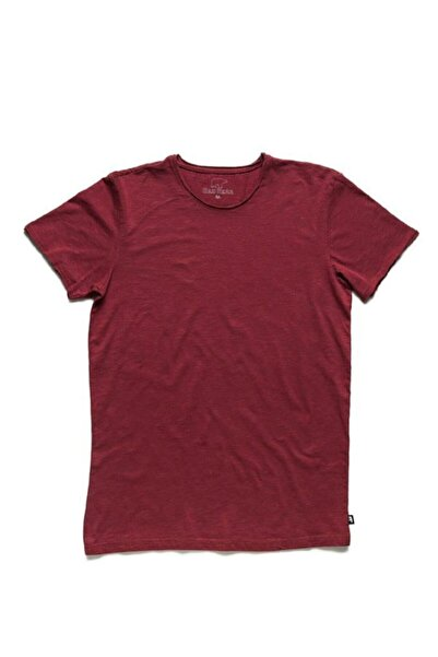 Bad Bear Bordo Erkek Tişört O-neck Tee Maroon (18.01.07.011-c20)