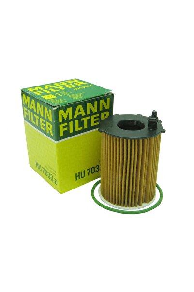 MANN Citroen C4 Cactus 1.6hdi 2014-2018 Yağ Filtresi