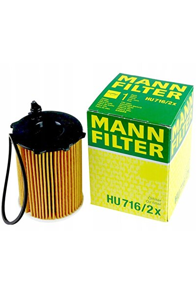 MANN Citroen C4 Picasso 1.6hdi 2007-2021 Yağ Filtresi