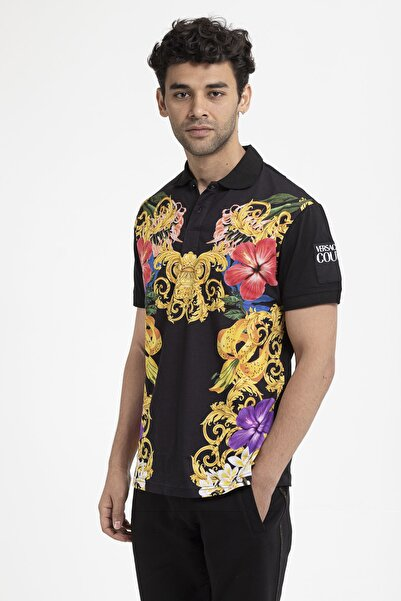 VERSACE JEANS COUTURE Pamuklu Erkek T-shirt