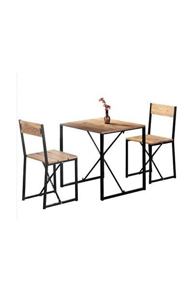Weblonya Mutfak Masa Sandalye Seti 2 Kişilik Masa Takımı 5135