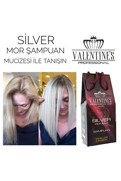 VALENTİNES Sılver Pıgment Mor Şampuan Valentınes Professional Premıum