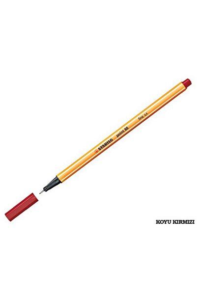 Stabilo Point 88 Ince Uçlu Kalem 0.4 Mm Koyu Kırmızı
