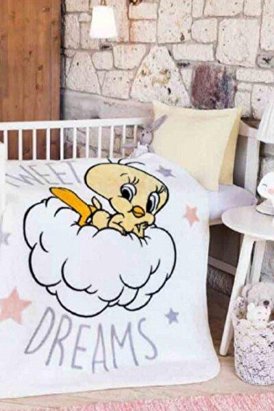 Özdilek Tweety Star Lisanslı Bebek Battaniyesi